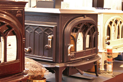 wood stoves, pellet stoves, gas burning stoves in showroom wilton ct